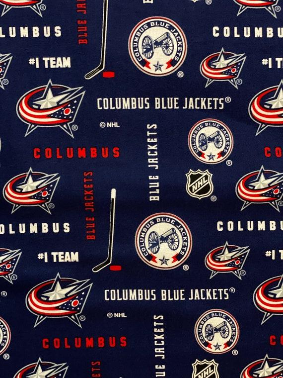 Columbus Blue Jackets NHL Fabric