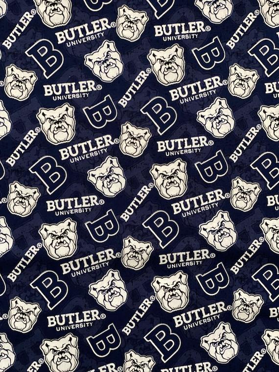 Butler University Blue Fabric