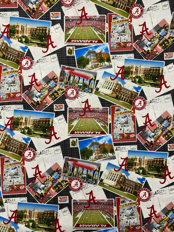 Alabama Crimson Tide Fabric