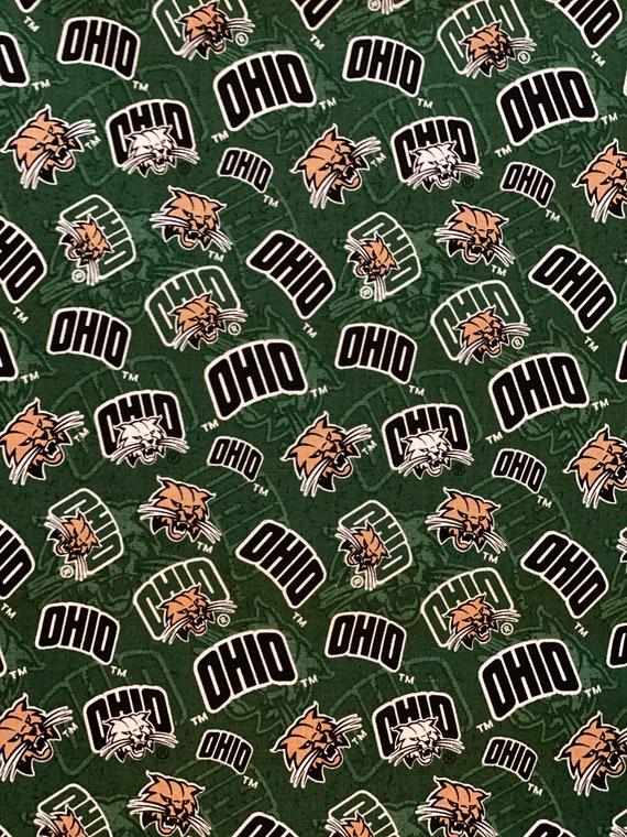 Ohio University Bobcats Fabric