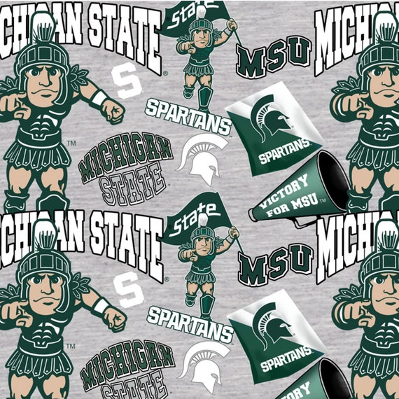 Michigan State Spartans Fabric