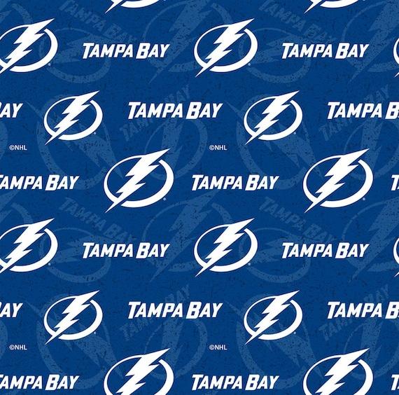 Tampa Bay Lightning NHL Fabric