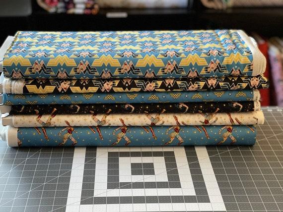 Wonder Woman Theme Fabric