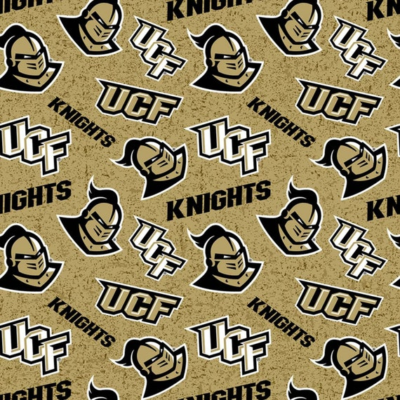 UCF Knights Toss fabric in various lengths