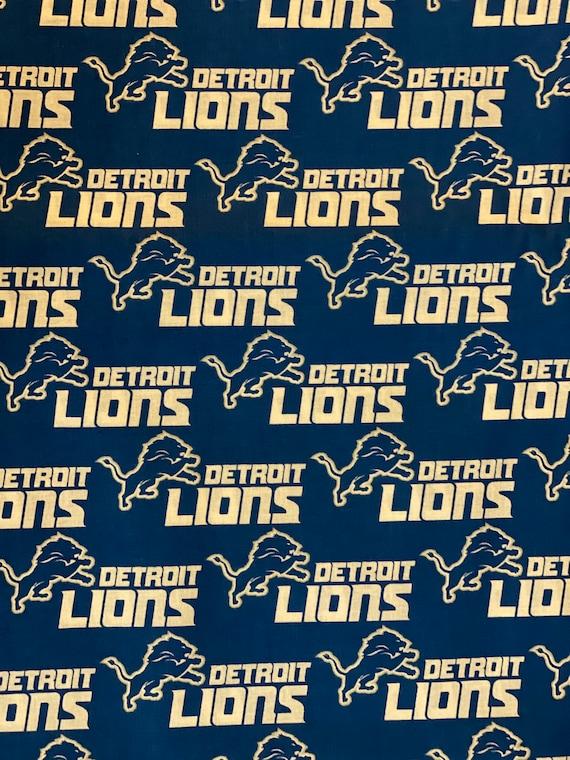 Detroit Lions Football Fabric