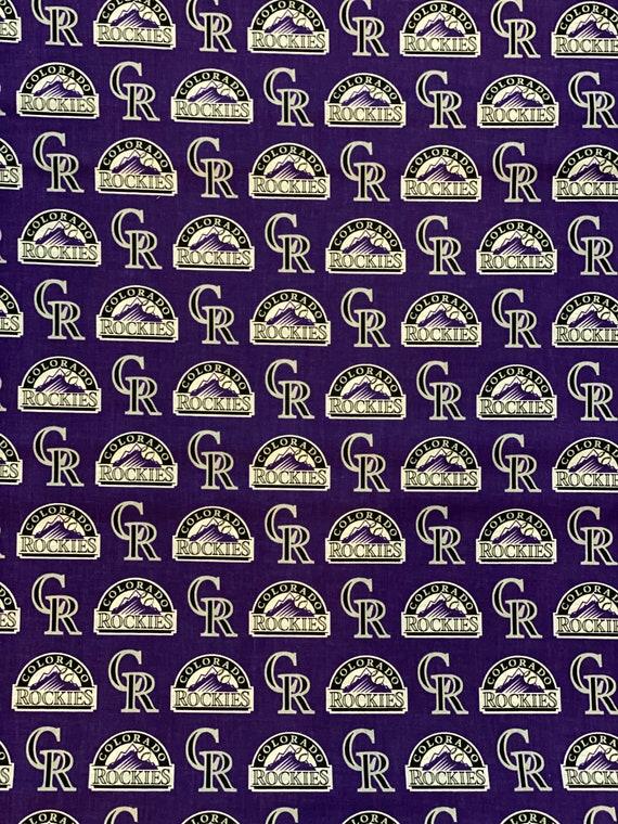 Colorado Rockies MLB Fabric