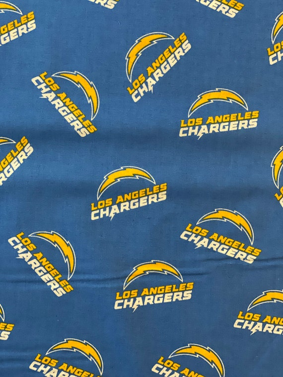 LA Chargers NFL Fabric