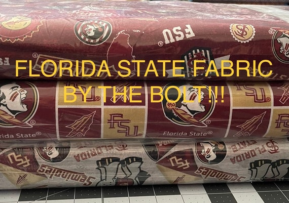 Florida State Fabric by the bolt