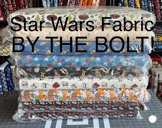 Star Wars Fabric by the bolt, Buy in bulk & save!