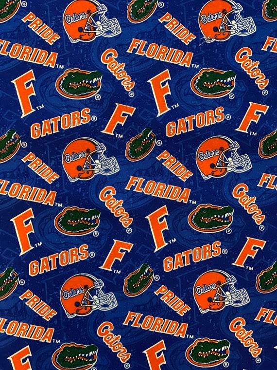 Florida Gators Blue Toss Fabric