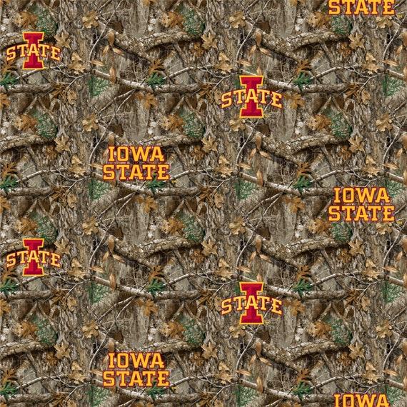 Iowa State University Cyclones Realtree Camo Fabric