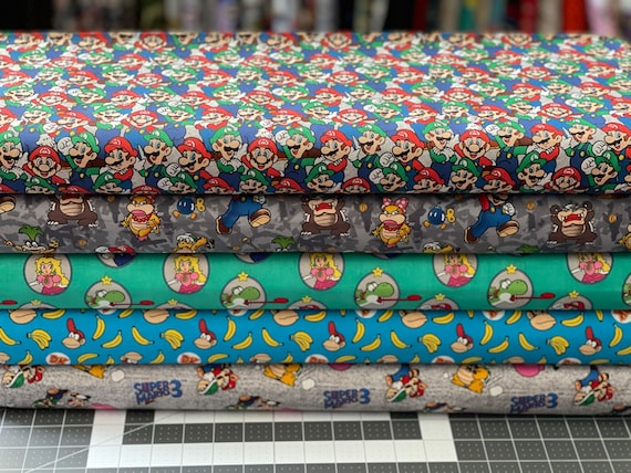 Nintendo Super Mario Fabric