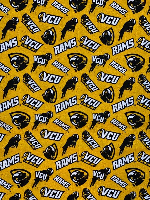 Virginia Commonwealth University Rams Fabric