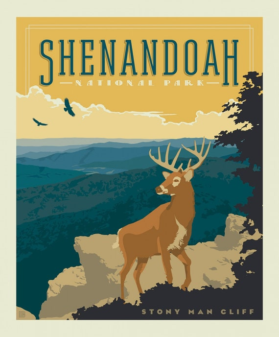 Shenandoah National Parks 1 Yard Panel