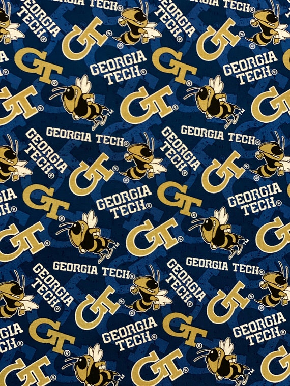 Georgia Tech Toss Fabric