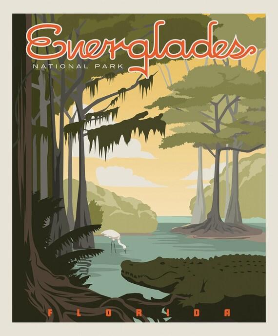 Everglades National Parks 1 Yard Panel