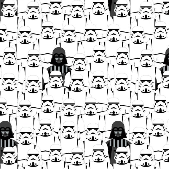 Darth Vader & Storm Troopers Fabric by the yard and other various lengths