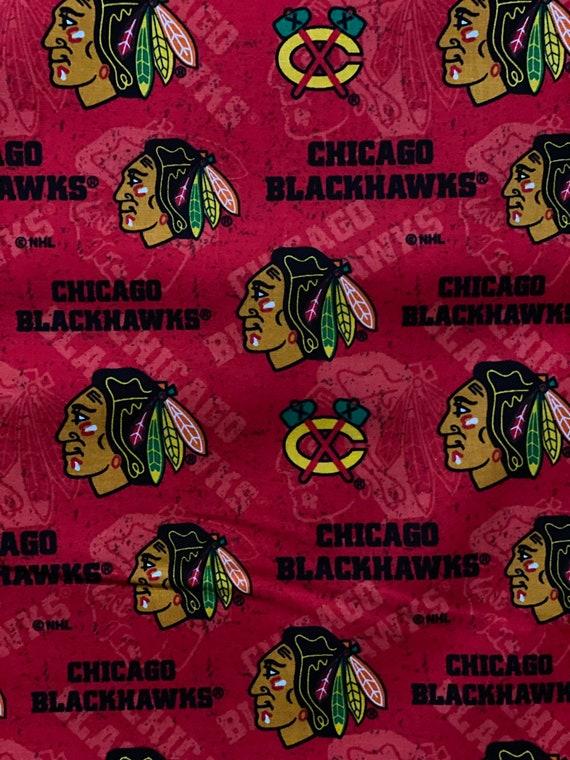 Chicago Blackhawks NHL Fabric