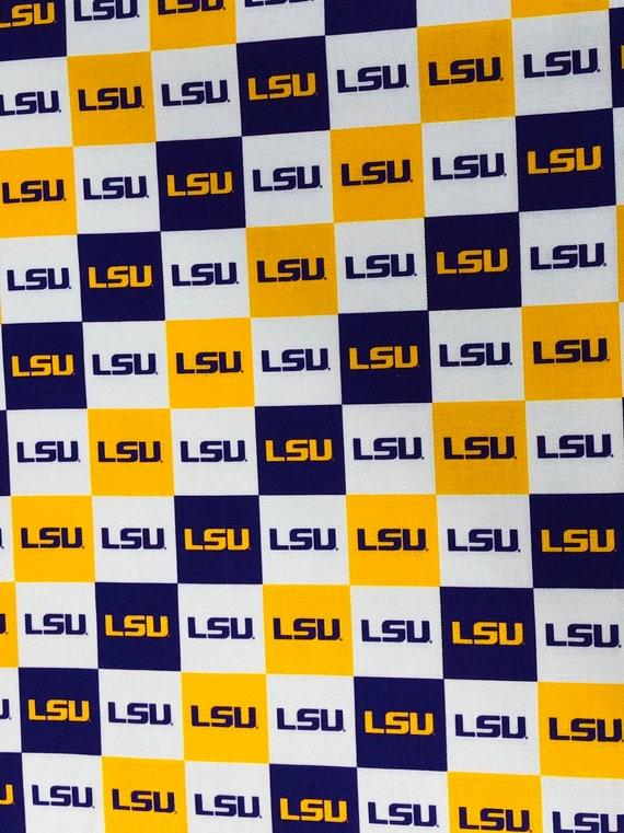 LSU Tigers Fabric
