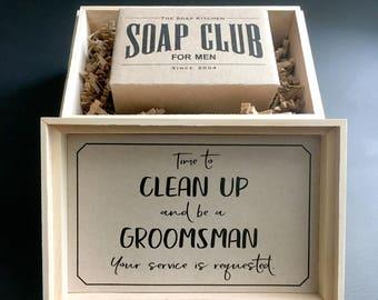 Groomsmen Asking Gift