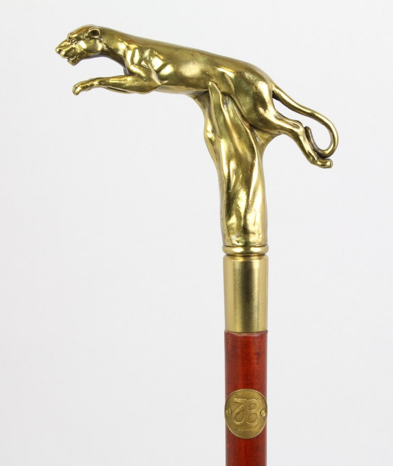 Antique Brass Engraved Walking Stick~Antique Parrot Shaped Walking Canes gift