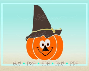 Scarecrow face svg | Etsy