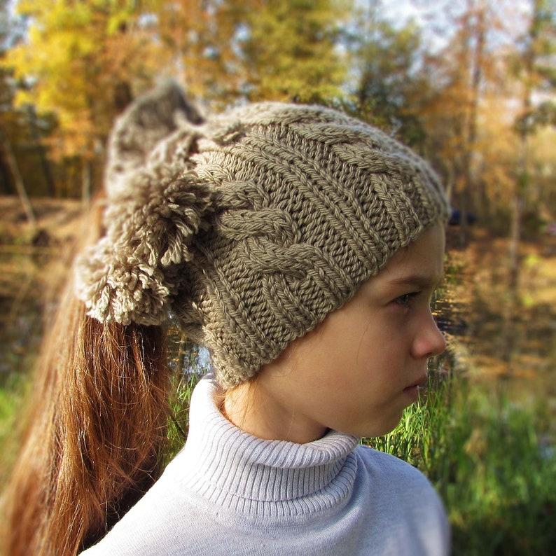f373ef71cc7 Knitted hat pattern autumn winter knit warm scarf beanie