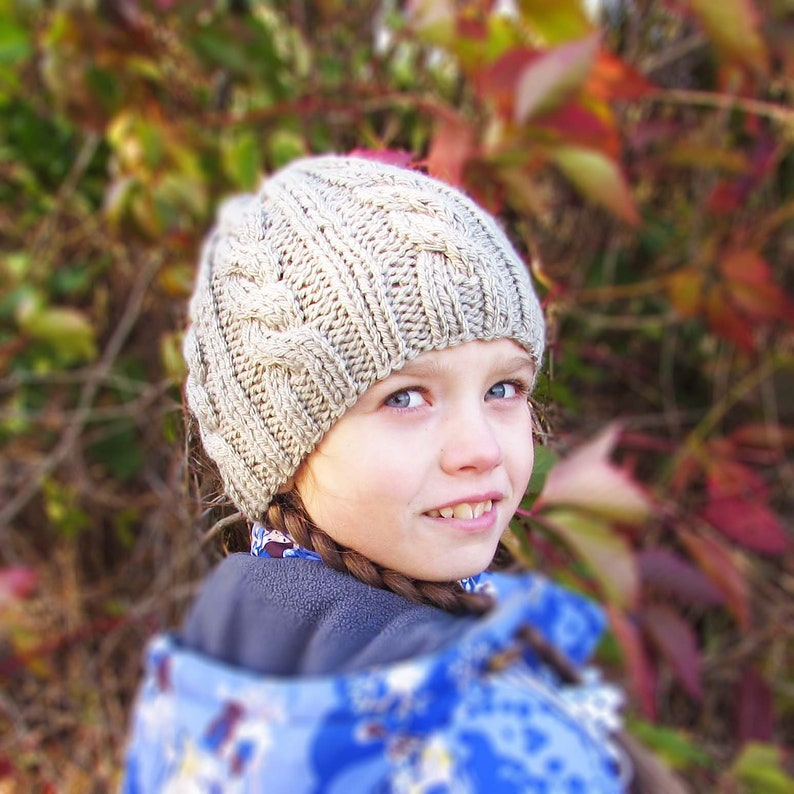 4032e8218ab Hat pattern hat autumn winter knit warm cap beanie hat