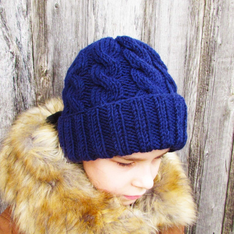 c5cf2d72f Hat pattern cap autumn winter knit, warm cap, beanie hat, knitting pattern  cap for Andrey, size for toddler, child, adult.