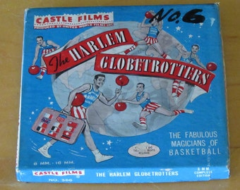 Castle Films 8mm.- 16mm. N386 The Harlem Globtrotters The Fabulous Magicians Of Basketball 1970's
