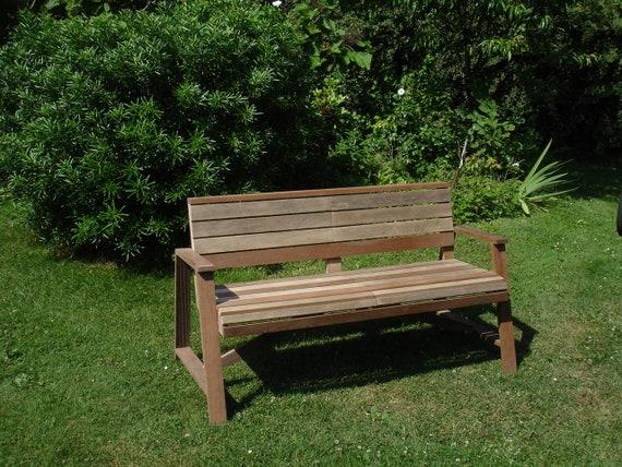 Sensational Recycled Wooden Garden Bench Machost Co Dining Chair Design Ideas Machostcouk