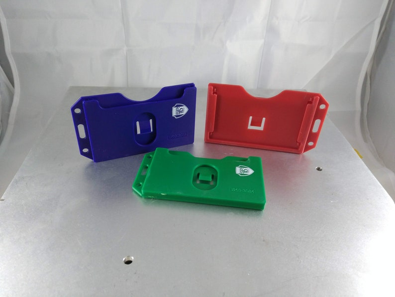 2 Card Id and Credit Card Holder with Simple Lanyard