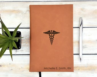 Personalized Medical Doctor Journal Graduation Gift