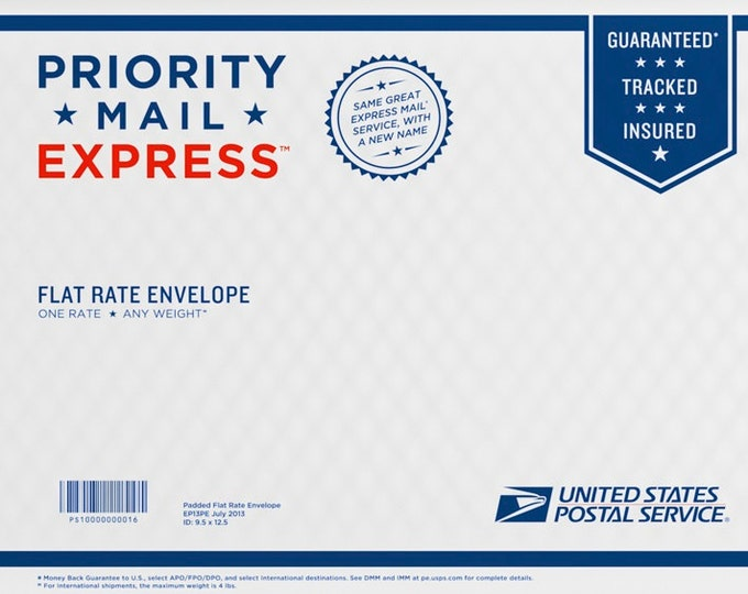 USPS Priority Mail Express Shipping Upgrade, Priority Mail Express, Shipping Upgrade