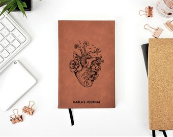 Personalized Anatomical Fantasy Fairy Heart Medical Anatomy Journal