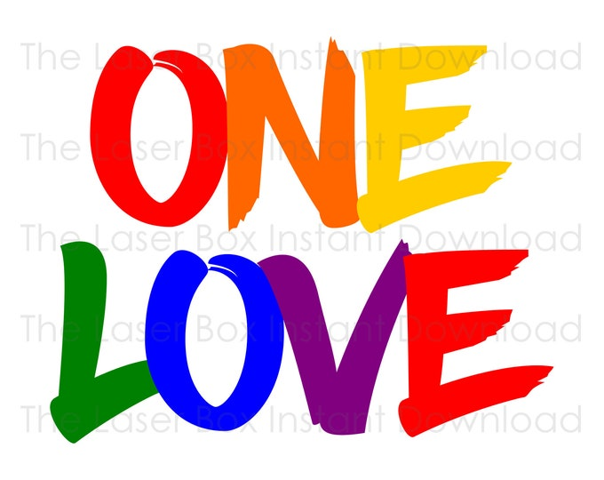 LGBTq Pride Flag Gay Love Lesbian Symbol Vector Svg, Eps, Png, Jpg and Pdf Instant Download