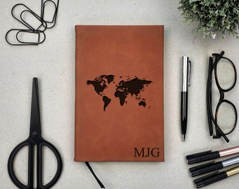 Personalized Travel Journal Writting Diary