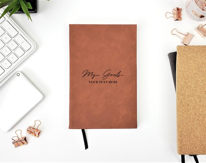 My Goal Personalized Journal, Goals Journal, Fitness Journaling, Writing Journal