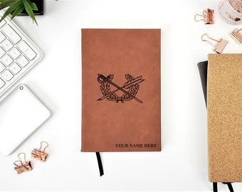 Personalized Journal US ARMY JAG Corps insignia Military Law Graduation Gift