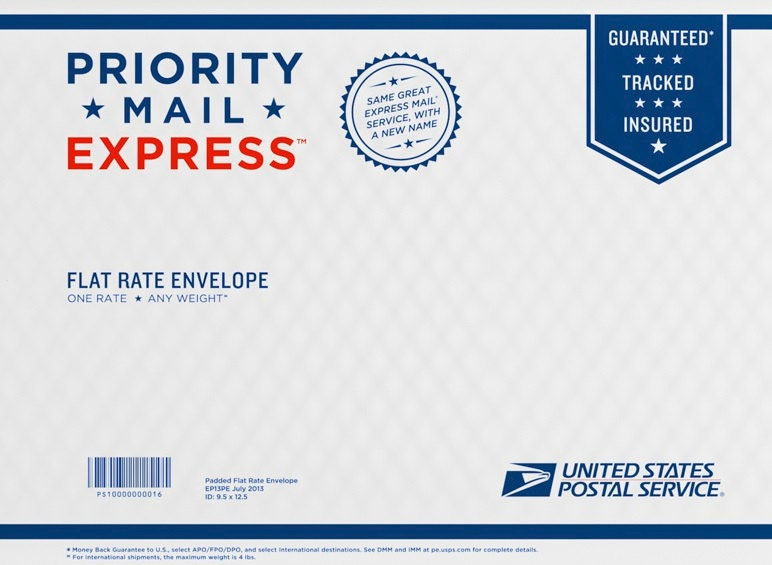 USPS Priority Mail Express Shipping Upgrade, Priority Mail ...