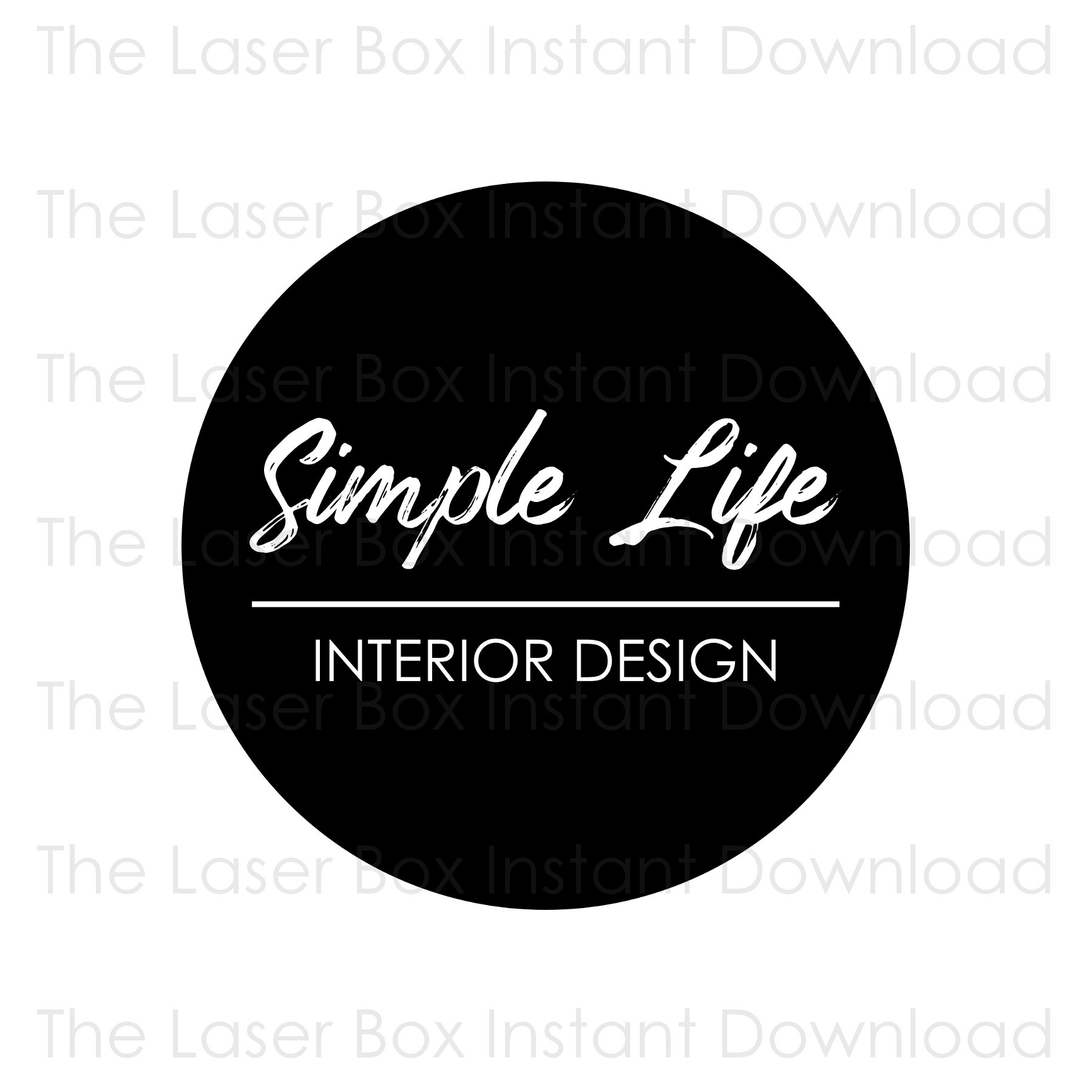 Premade Simple Round Logo Design Svg Eps Png Jpg And