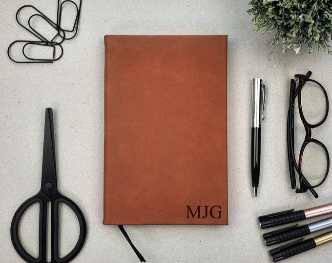 Business Journal, Personalized Journal, Personalized Diary, Monogrammed Notebook, Personalized Gift