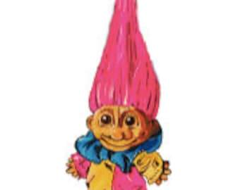Vintage Troll Giclee Limited Edition Print