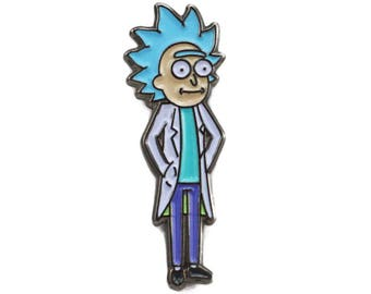 Young Rick Sanchez - Rick and Morty Enamel Pin