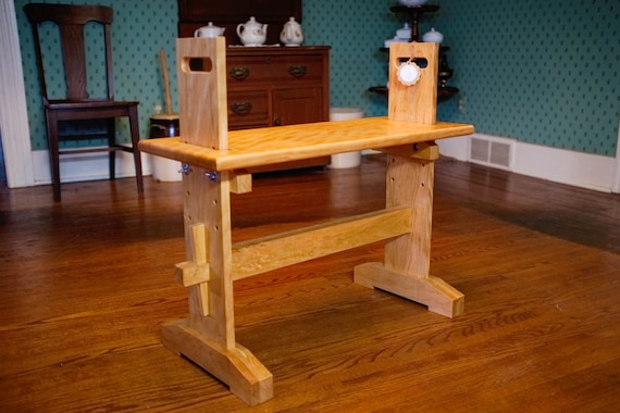 Portable and Adjustable Weaving Loom Bench / stable or rocking   Etsy