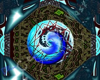 "The Immortal Eye 8""x8"" Print"