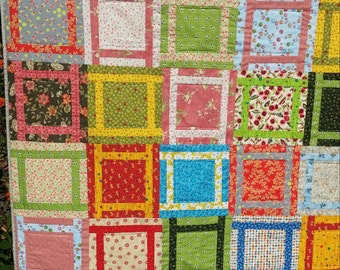 Multi-Color Layer Player Quilt