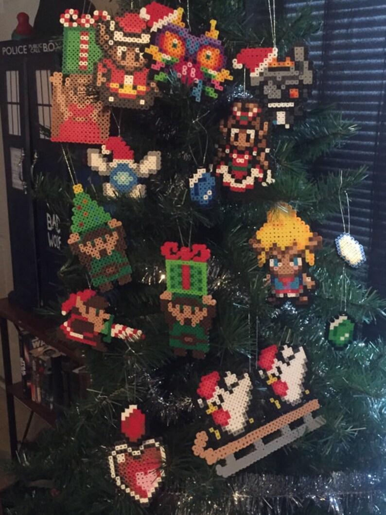 Legend of Zelda Christmas Ornaments