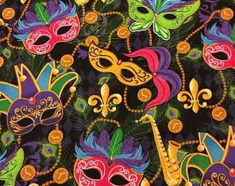 CHOOSE FROM Holiday Fabric, Mardi Gras, Rollator, Walker Seat and Backrest Cover, NEW