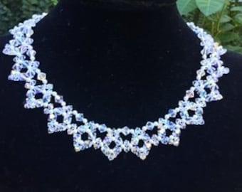 Gorgeous All Swarovski Crystal necklace
